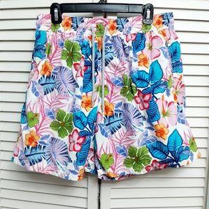 Vilebrequin Swim Trunks Tropical Flowers XXL